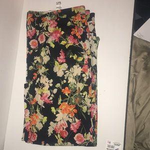 Zara Women's floral prints pants